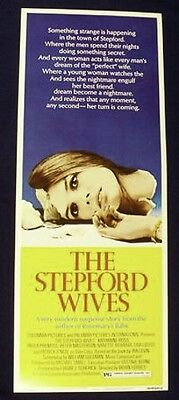 Stepford Wives 14X36 Original Rolled Movie Poster 1975 Insert Katherine Ross