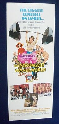 Strongest Man In The World 14X36 Original Rolled Movie Poster Insert 1975
