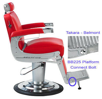 Takara Belmont Elegance BB225 Barber Chair Platform Footrest Connecting Bolt