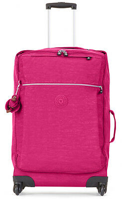 "Kipling Darcey M 26"" Spinner Upright Luggage Suitcase - Very Berry"