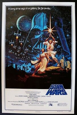 Star Wars 15Th Anniversary 27X41 Rolled Movie Poster 1992