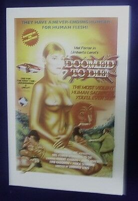 Doomed To Die Original Rolled 27X41 Movie Poster Cannibals 1980