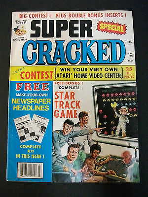 SUPER CRACKED Fall 1982 the 18th Super Cracked