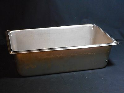 """VOLLRATH Stainless Steel 21qt (19.9L) Steam Table Pan 20-3/4"""" x 12-3/4"""" x 6"""""""