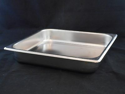 """Laboratory Stainless Steel 6.75qt (6.4L) Steam Table Pan 14"""" x 12-3/4"""" x 2-5/8"""""""