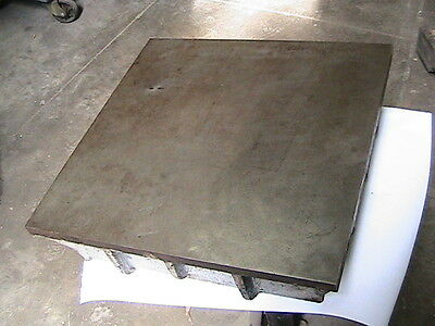 18 x 18 Cast Iron Surface Plate, Challenge Machine Co