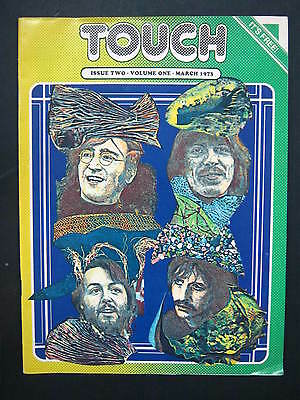 TOUCH MAGAZINE Issue two vol. 1 March 1973 THE BEATLES
