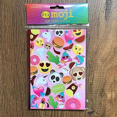 NEW Emoji Its A Moji Journal Diary Notebook Paper Lined Blank Pages