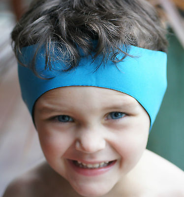 "Swimming Ear Band for Children - Water and Ear Protection and ""Cool"" to wear"