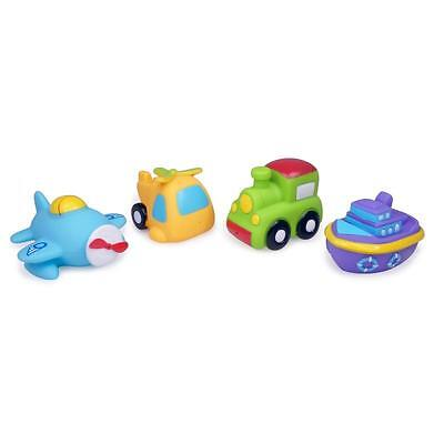NEW Tolo Toys Bath Squirters Vehicles – Set 4 - Baby Bath Toys