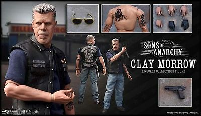 "Sons of Anarchy - Clay Morrow 12"" 1:6 Scale Action Figure-PCSCLAY001"