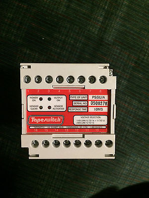 Tapeswitch PSSU/A Safety Automation Machine Control Unit Output Relay