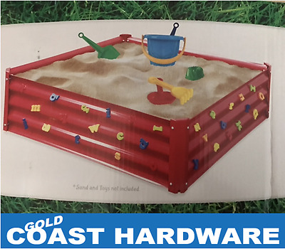 Kids Sandpit With Weatherproof Cover - 20 ONLY WAREHOUSE CLEARANCE