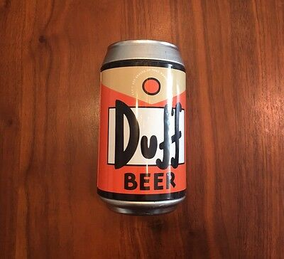 The Simpsons Duff Beer Can Playing Cards Series 2 - Cards are NEW SEALED