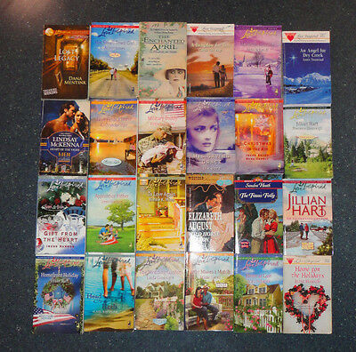 Romance Book lot of 76 Mostly Love Inspired, Some Harlequin and Silhouette Nice