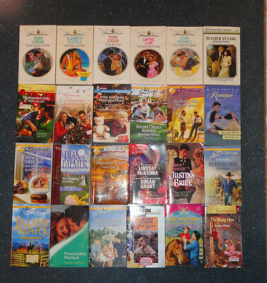 Romance Book lot of 79 Harlequin, Love Inspired, and Silhouette SC PB Nice