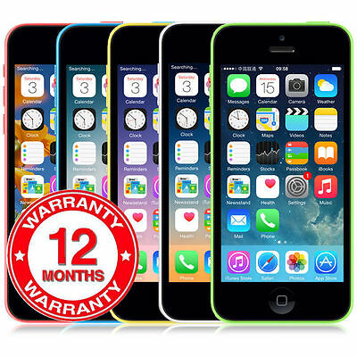 Apple iPhone 5C Smartphone 32GB 16GB GSM Factory Unlocked Mobile Phones 5 Color