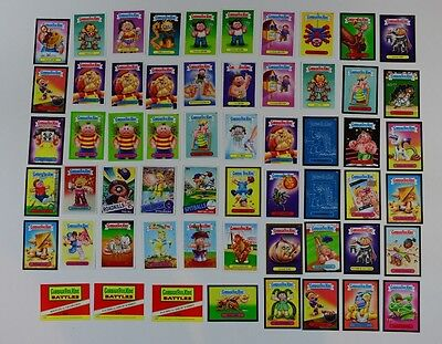Garbage Pail Kids 2014 2015 Series 58 Cards Metallic Stickers League Mixed Lot