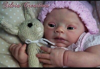 Beautiful Custom Made Reborn Doll From Down Syndrome Pebbles Kit❤Ready Sept