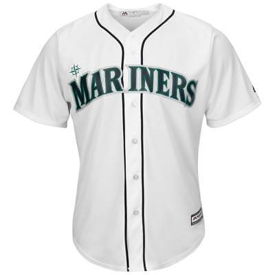 Majestic Seattle Mariners Cool Base MLB Trikot Home