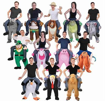Shoulder Piggy Back Ride On Carry Fancy Dress Adult Party Costume Mens Outfit