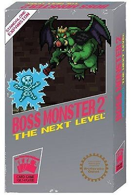 Boss Monster: The Dungeon Building Card Game - Villain Side Scrolling NEW