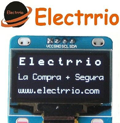 "EL0516 Display OLED 1,30 Blanco IIC I2C Modulo 128x64 1,3"" LED Arduino 1.30"