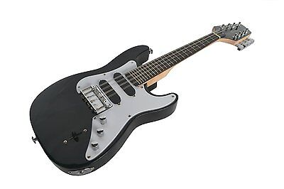 B - Stock Mandocaster Electric Mandolin Black By Clearwater Latest Model