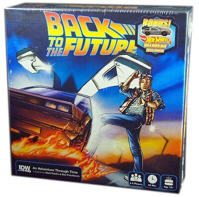 IDW Games, Back to the Future Board Game, New and Sealed