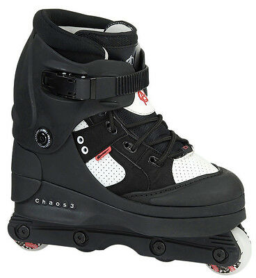 Anarchy Chaos Aggressive InLine Skates Roller Blades | Sizes UK5-UK12