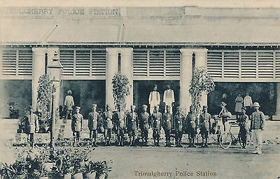 POSTCARD   INDIA   TRIMULGHERRY     Police  Station