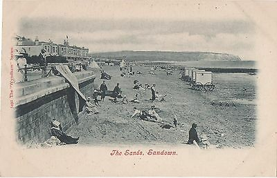 POSTCARD  IOW  SANDOWN  The sands