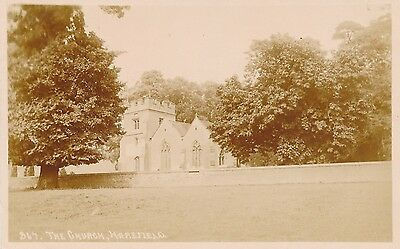 POSTCARD   MIDDLESEX   HAREFIELD    The  Church