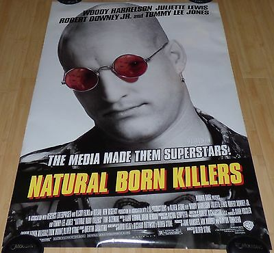 Natural Born Killers 1994 Orig Rolled Ds 1 Sheet Movie Poster Woody Harrelson