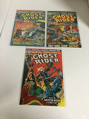 Marvel Spotlight On Ghost Rider 6 7 8 Fn-Vf Fine-Very Fine 6.0-8.0