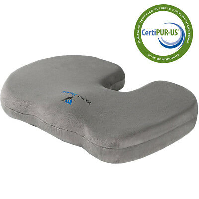 Vaunn Medical Orthopedic Coccyx Tailbone Cushion Pillow for Lower Body Support