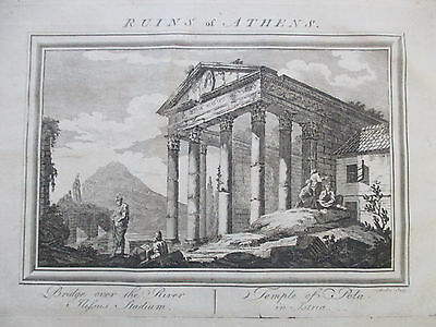 System of Geographie Temple of Augustus Croatia - 1774