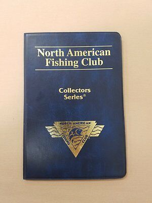 North American Fishing Club NAFC Series 1 Collectors Series Coins Medallions x6