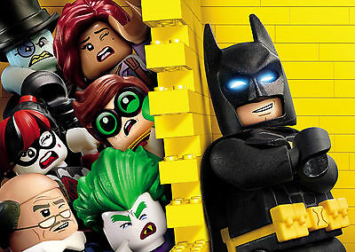 The LEGO Batman Movie (2017) V4 - A1/A2 POSTER *BUY ANY 2 AND GET 1 FREE OFFER*