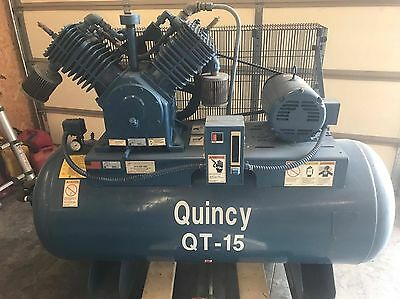 Quincy Air compressor,  10hp - good working order