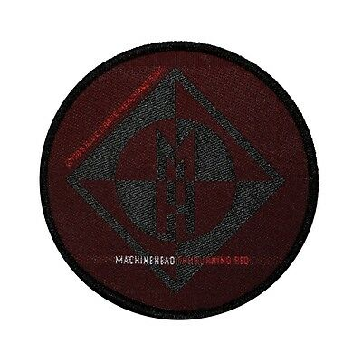 Machine Head The Burning Red Heavy Metal Woven Badge Applique Patch