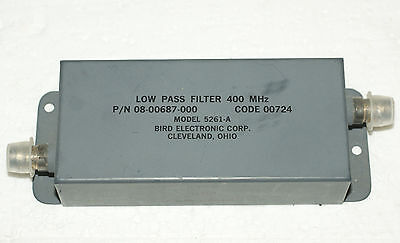 NOS Low Pass Filter 400MHz Tiefpass BNC Bird 5261 kräftig