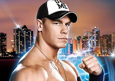John Cena Poster Print Photo Picture A4 A3 - Perfect For Any Wwe Cena Fan