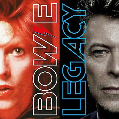 DAVID BOWIE LEGACY CD (Very Best Of) New Sealed Free UK Post