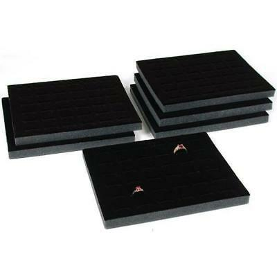 Ring Tray Foam Insert 36 Slot Black 6pc