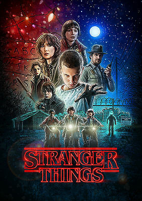 Stranger Things Poster Print Photo Picture A4 A3 - High Quality Print 260Gsm