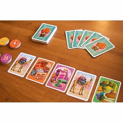 FREE SHIPPING Jaipur cards game board for 2 players Fast-paced Strategy Game