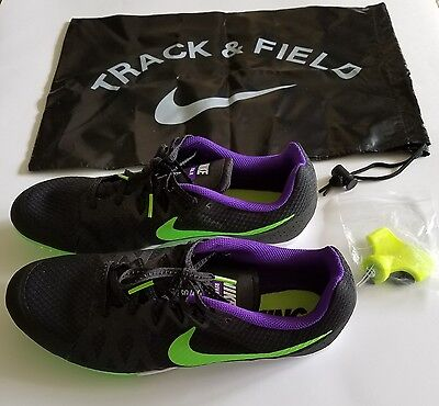 big sale dcc8d 81447 New NIKE ZOOM RIVAL M Multi Use TRACK FIELD Running SPIKES SHOES Mens Size  9.5