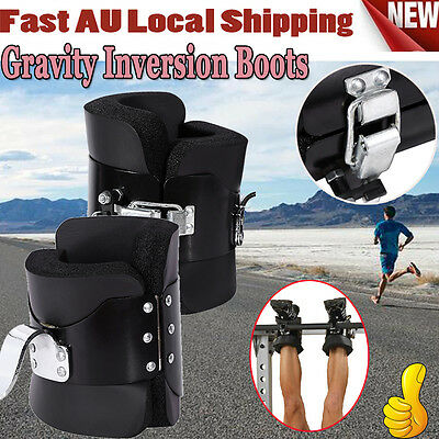 Gravity Inversion Boots Therapy Crossfit Hang Spine Posture Physio GYM Posture-Z