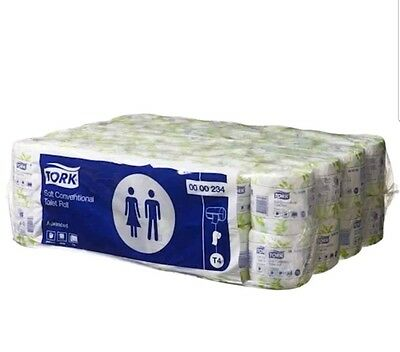 Tork Advanced Toilet Paper 2 Ply 48 Rolls x 400 Sheets (00234) | Tork Products